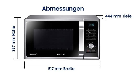 Samsung MG28F303TCS/EG - Microondas Microondas Samsung. plata ...