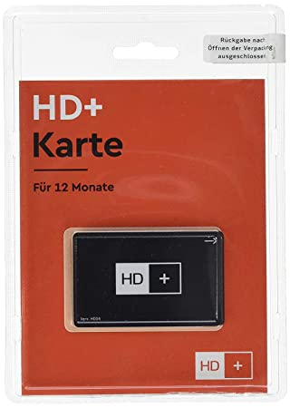 hd+ karte 12 monate HD Plus HD+ Karte 12 Monate: Amazon.de: Elektronik