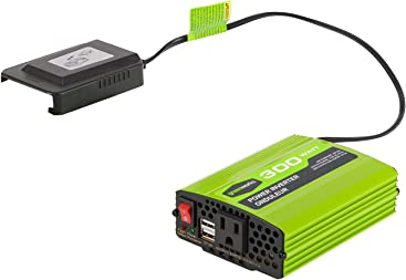 Greenworks 40V 300W Cordless Power Inverter IV40A00