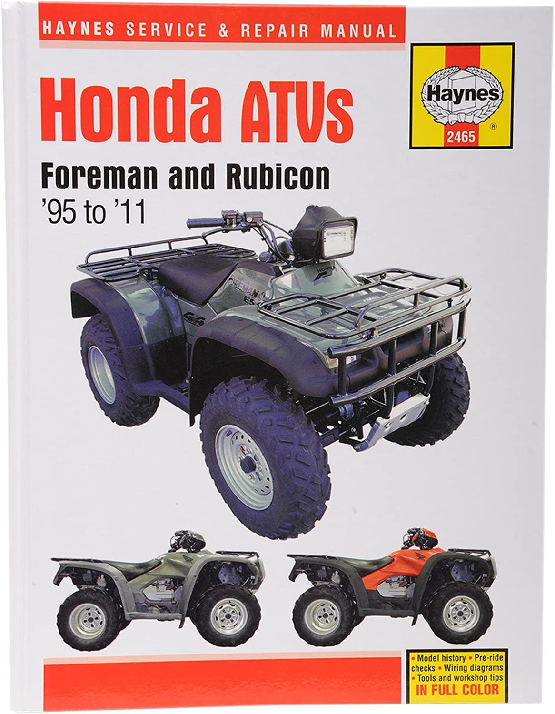Honda TRX 400 450 500 Taller de reparación manual Haynes ...