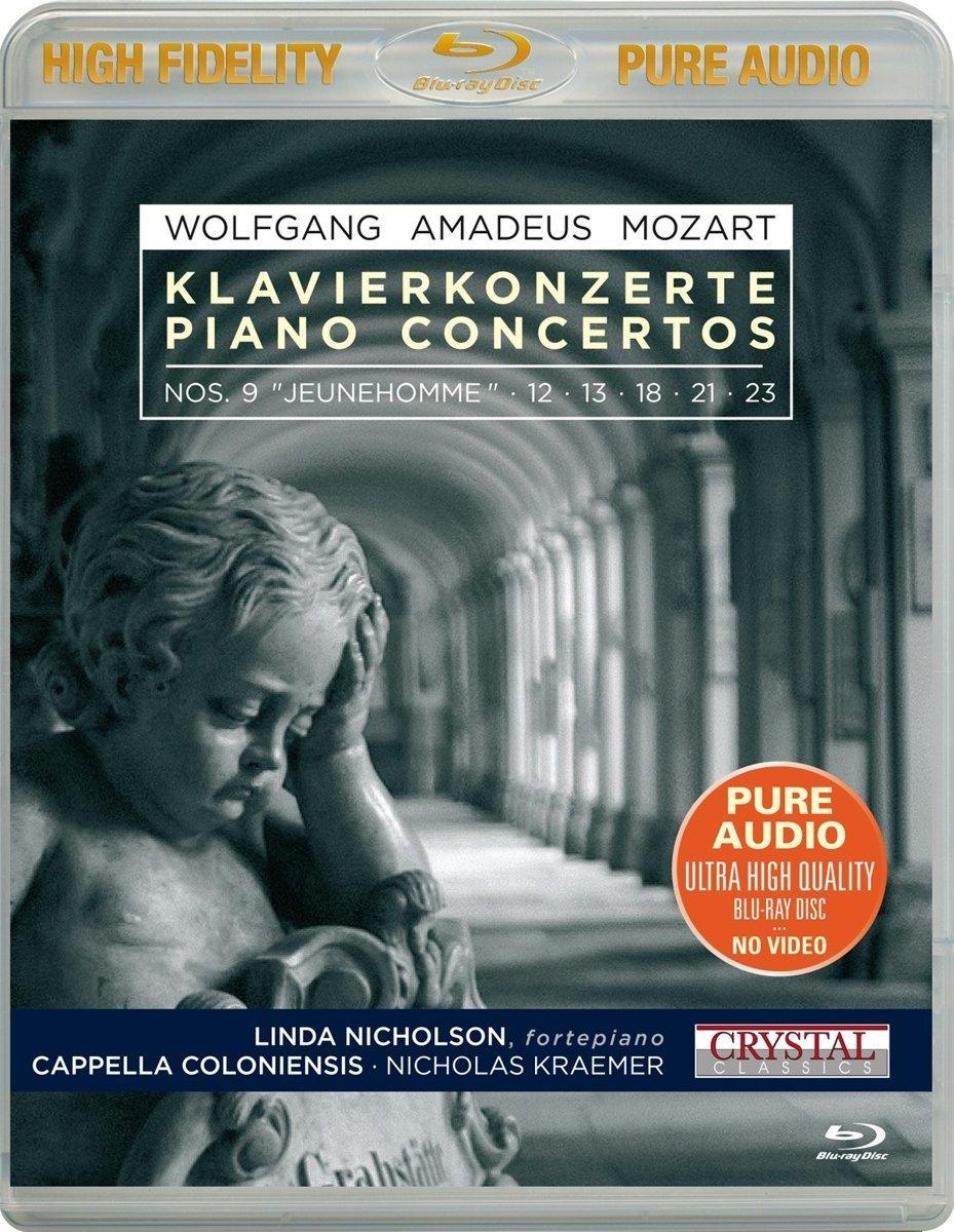 Blu-ray Audio : WOLFGANG / AMADEUS / MOZART / LINDA NICHOLSON - Klavierkonzerte/ Piano Concerto (Blu-ray Audio)