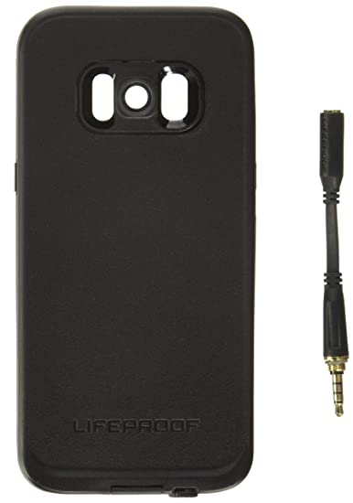 newest collection 875a5 c5666 Lifeproof FRĒ Series Waterproof Case for Samsung Galaxy S8 (ONLY) - Retail  Packaging - Asphalt (Black/Dark Grey)