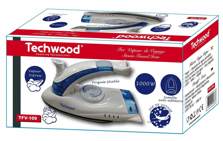 Techwood tfv-109/Ferro vapore di viaggio