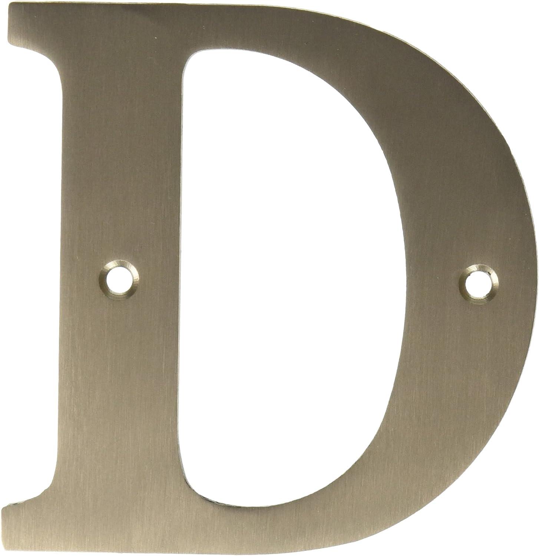 Deltana RL4D-15 4-Inch Residential Letter D House Board