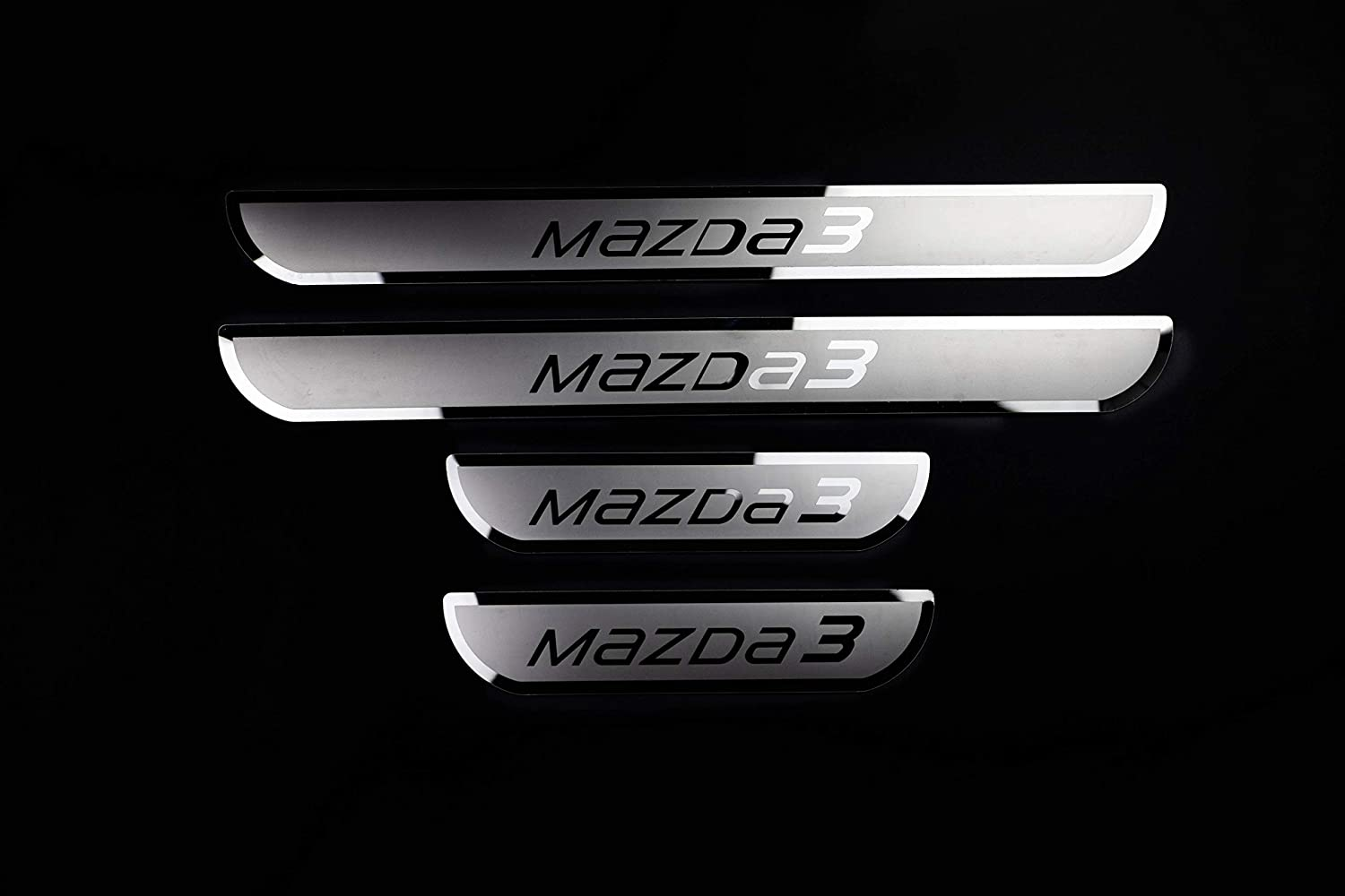 Car Stainless Steel door Sill Scuff Plate for Chevrolet Sonic 2014-2019