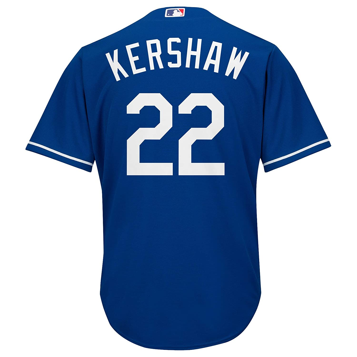 Clayton Kershaw Los Angeles Dodgers MLB Majestic Youth 8-20 Blue Alternate Cool Base Replica Jersey