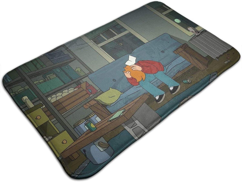 Futurama Carpet Modern Ultra Soft Anti-Slip Decor Indoor Living Room Floor Children Bedroom 19.531.5 Inch