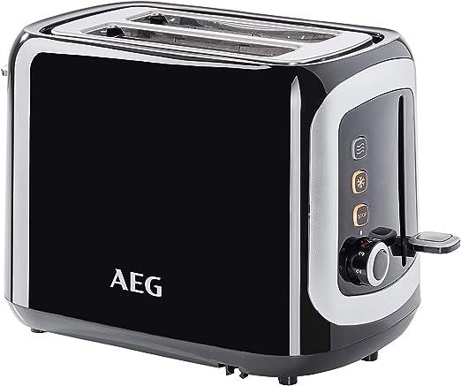 AEG AT3300 Tostadora Serie 3 de Doble Ranura, 7 Niveles de ...