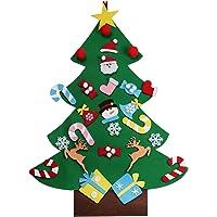 QQPOW DIY árbol de Navidad de Fieltro Regalo