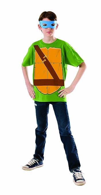 Kit disfraz de Leonardo Las Tortugas Ninja para niño - S: Amazon ...