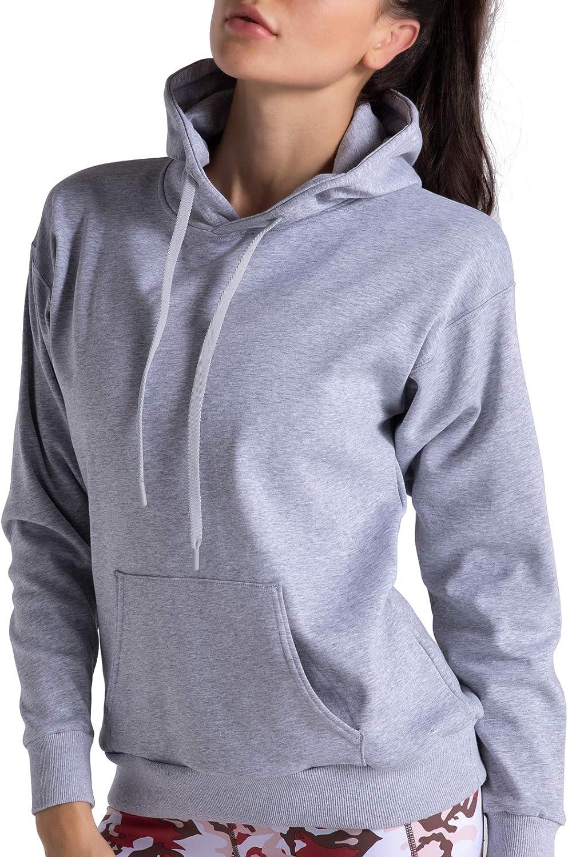Mens Womens Fleece Plain Hoodie Sweatshirt Hooded Pullover Casual Gym Tops