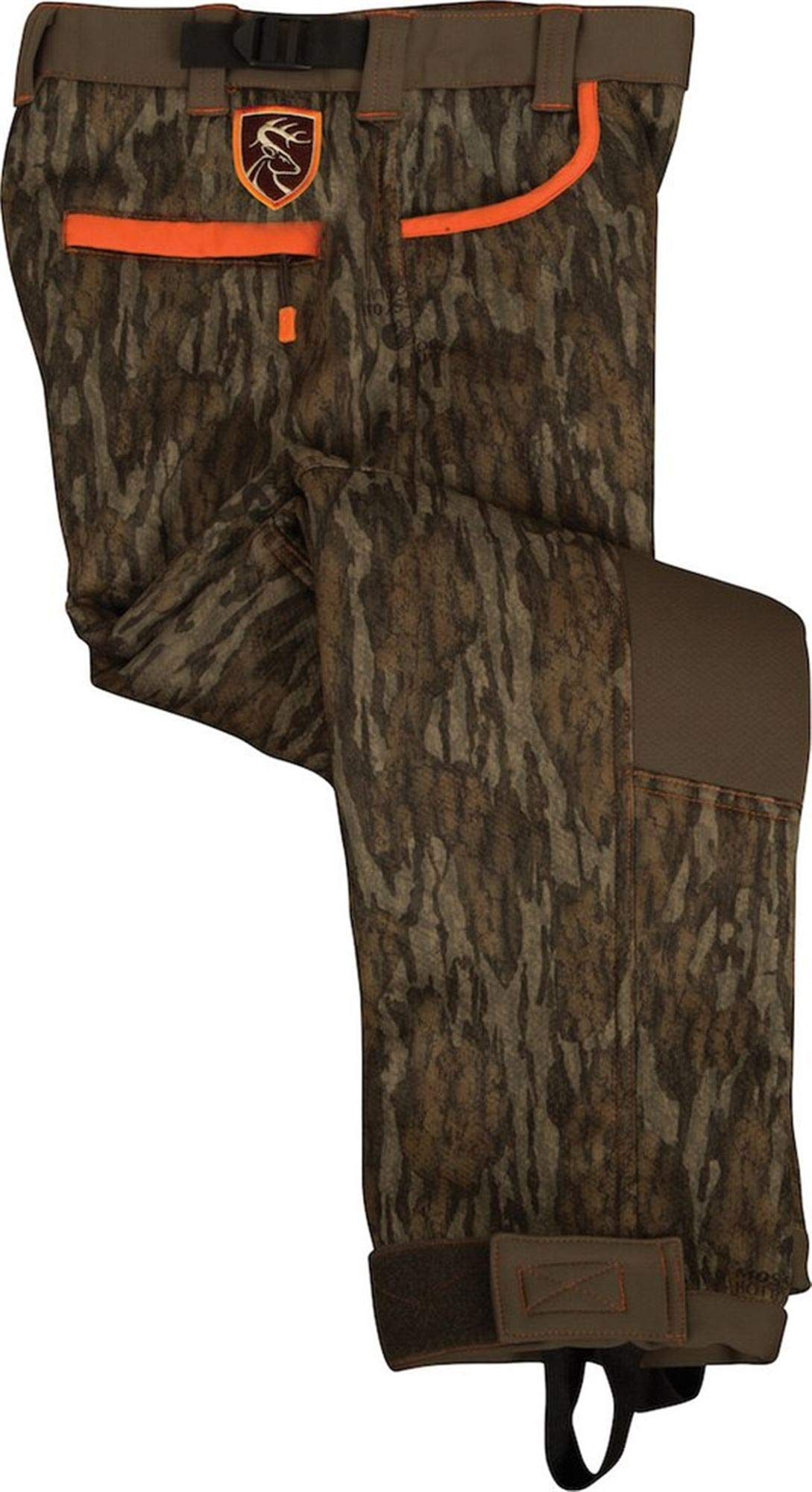 Drake Youth Silencer Pant with Agion Mossy Oak Bottomland 12 by Drake