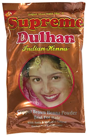 Amazon Com Supreme Herbal Henna Mehndi Copper Brown With Amla