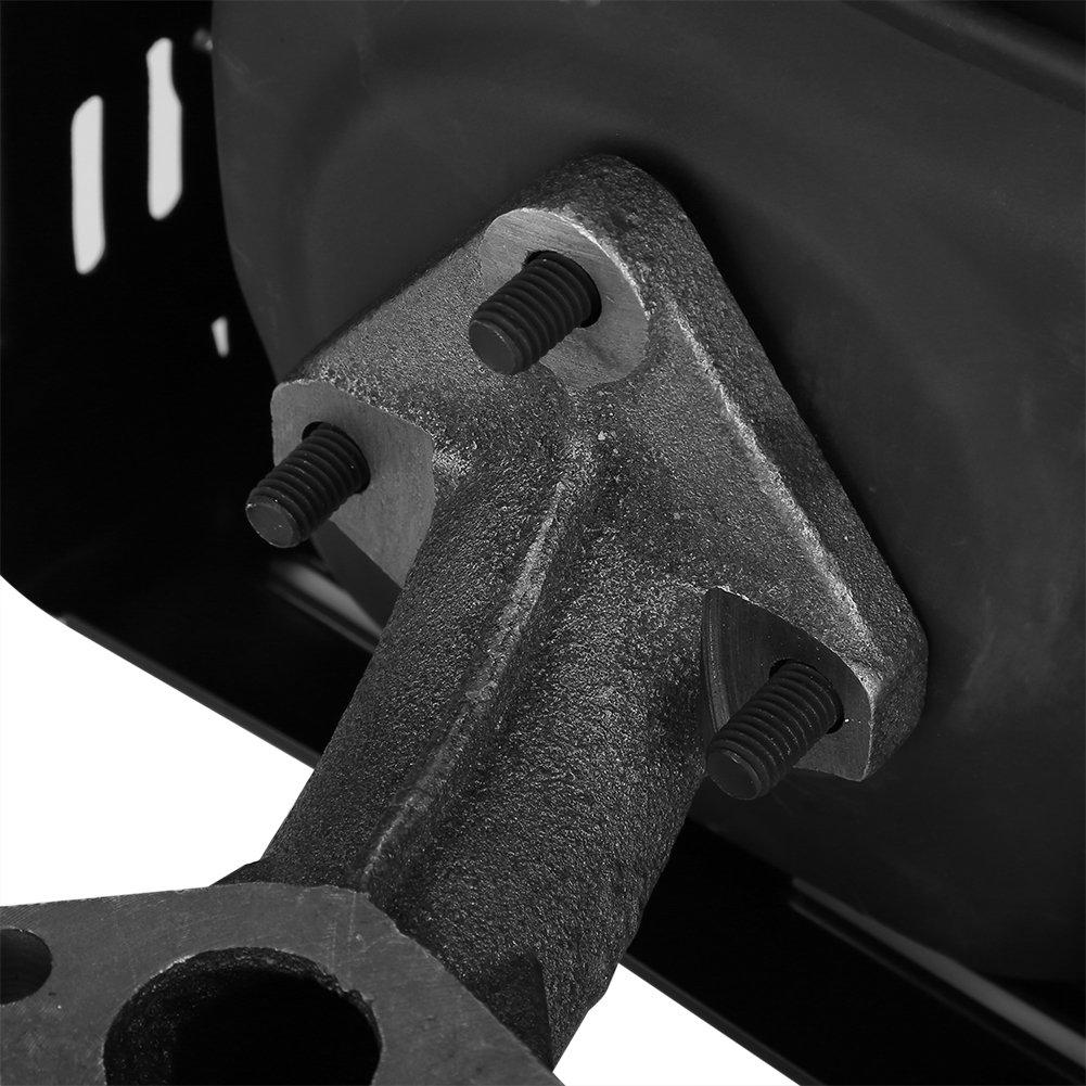 GOTOTOP Elektrischer Generator Schalld/ämpfer Auspuff Montage f/ür GX340 GX390 182F 188F Benzinmotor Teile schwarz