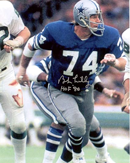 2189b3c99cd Bob Lilly Dallas Cowboys Autographed Signed 8x10 Photo - Certified Authentic
