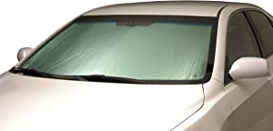 Intro-Tech Automotive TT-94 Silver w/Out Sensor Custom Fit Windshield Sunshade for Select Toyota Camry Models, Without Lane Assist