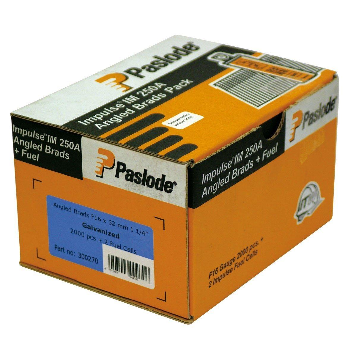 Im250/a /& Fn16/a 65 ITW Paslode F16/coud/é X 38/mm Clous pour Im65/a