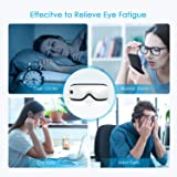 HOMIEE Eye Massager, Portable Electric Bluetooth