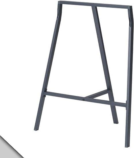 Ikea - Caballete VIKA LERBERG, gris (X2): Amazon.es: Hogar