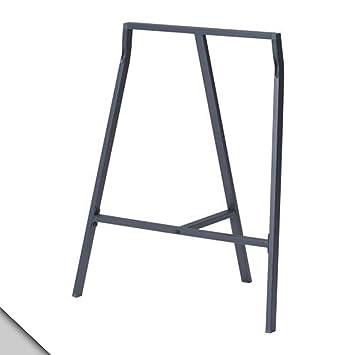 Ikea Vika Lerberg Treteau Gris X2 Amazon Fr