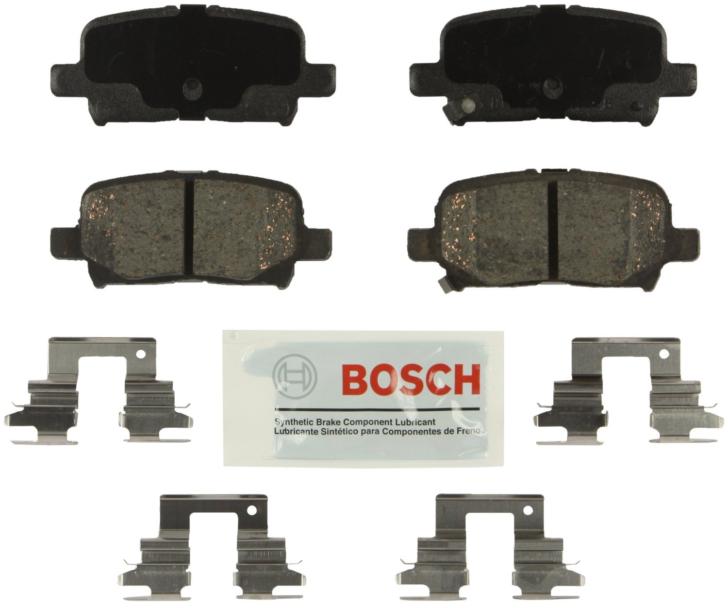 Bosch BE865H Blue Disc Brake Pad Set with Hardware by Bosch