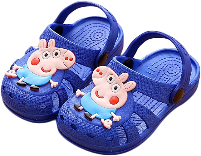 Bakerdani Boys Girls Summer Closed-Toe Sandal Toddler//Little Kid//Big Kid