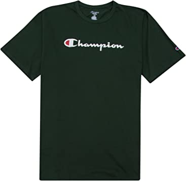 027961441f4d0 Champion Big and Tall Mens Short Sleeve Classic Logo Tee