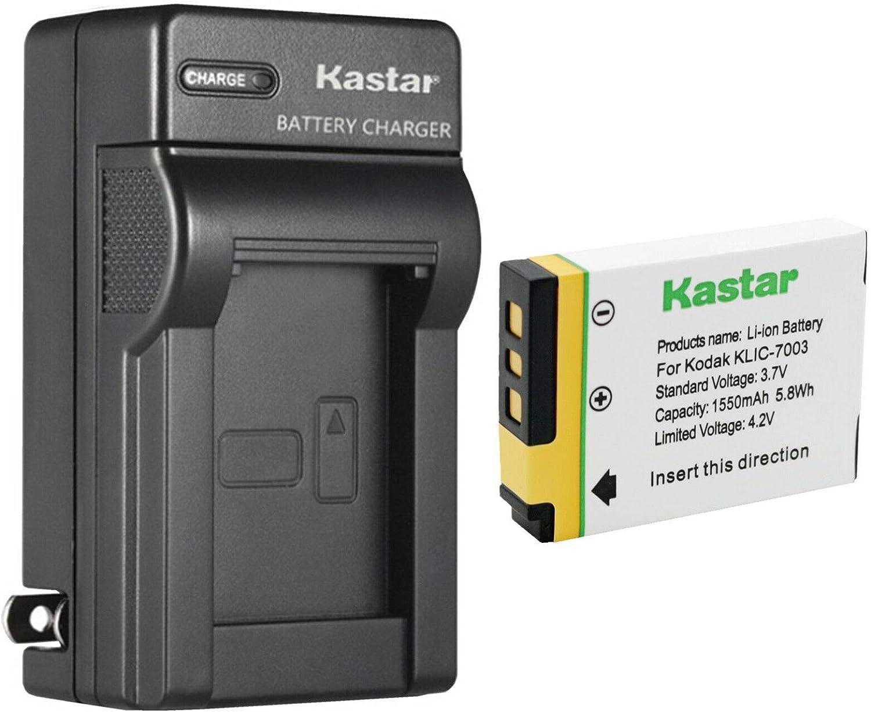 Kastar 1-Pack GB-40 Battery and AC Wall Charger Replacement for GE GB-40 GB40 Battery, GE A830, E1030, E1035, E1040, E1050, E1050TW, E1055, E1235, E1240, E1250TW, E850, E850SL, H855 Camera