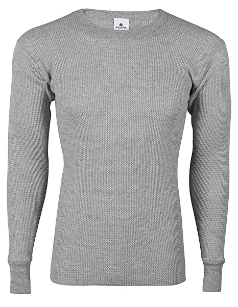 clear and distinctive great deals on fashion superior performance Indera - Mens Long Sleeve Cotton Thermal Top 839LS