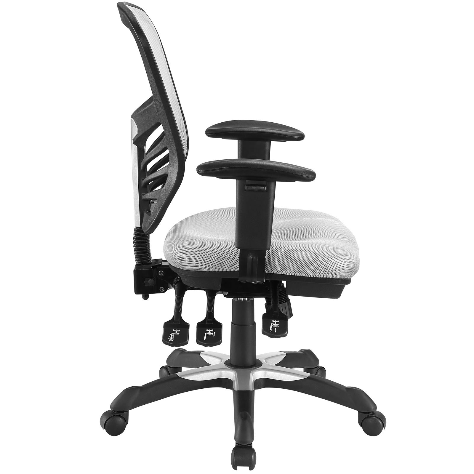 Modway Articulate Ergonomic Mesh Office Chair in Gray by Modway (Image #4)