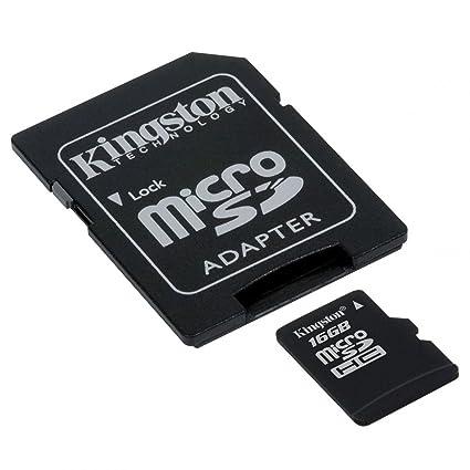 Tarjeta de Memoria 16 GB para Nokia Lumia 530 (Micro SD, Adaptador Incluido)