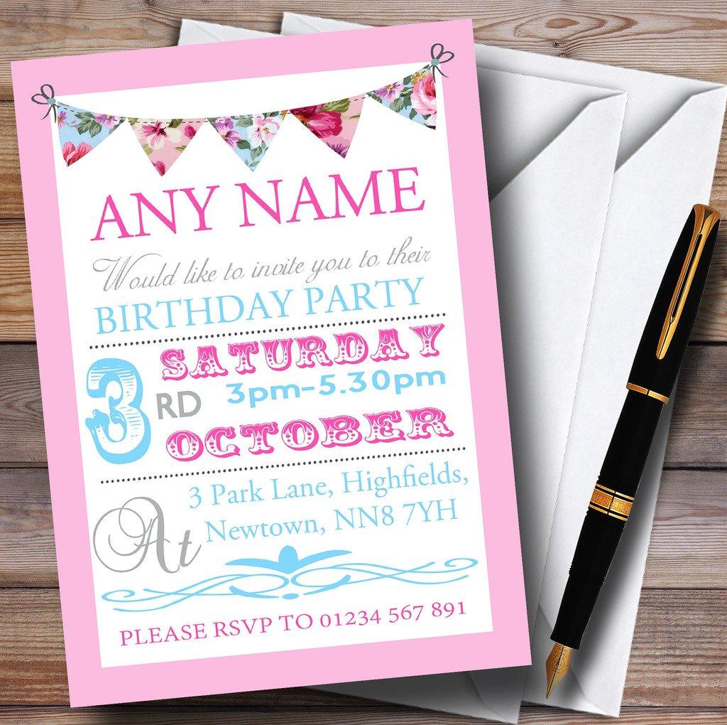 Personalised Party Invitations: Amazon.co.uk