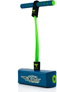 Flybar My First Foam Pogo Jumper for Kids Fun and Safe Pogo Stick, Durable Foam and Bungee Jumper for Ages 3 and up Toddler