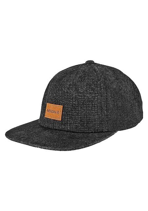 NIXON Wrangler Snapback Hat Black / black Fall Winter 16-17 - One Size: Amazon.es: Deportes y aire libre