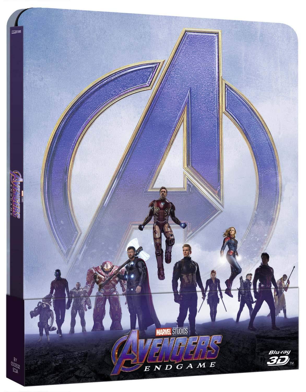 Avengers - Endgame 3D Ltd Steelbook Blu-Ray 3D+2 Blu-Ray Italia ...