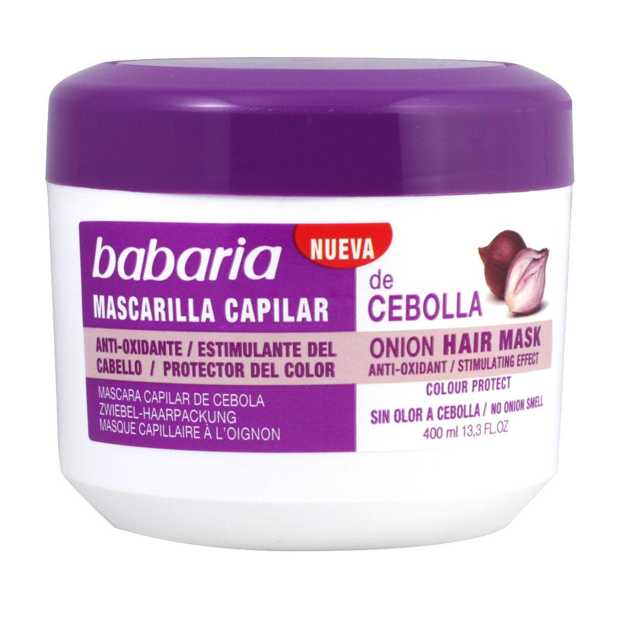 Babaria Cebolla Masque Capillaire 400 ml 8410412020992