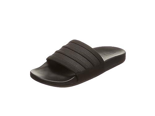 Herren Adilette CF+ Mono Dusch-& Badeschuhe, Schwarz (Core Black/Core Black/Core Black Core Black/Core Black/Core Black), 36 2/3 EU adidas