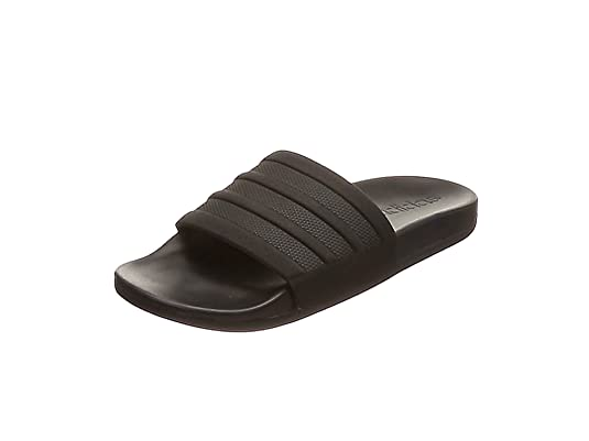 new style 34a4b 1ddd9 Adidas Adilette Cf+ Mono - Scarpe da Spiaggia e Piscina Uomo, Nero (Cblack