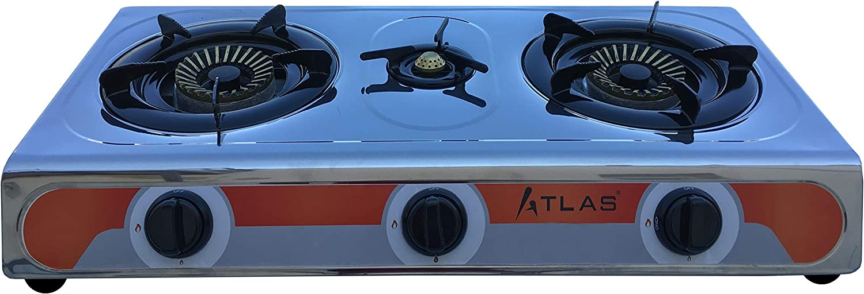 Tecatel – Cocina de gas uso exterior serie ATLAS GE03 INOX ...