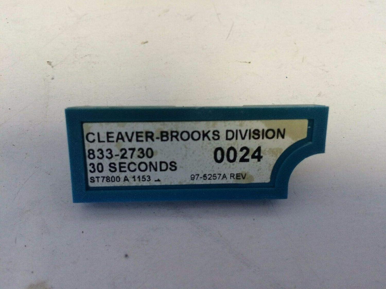 CLEAVER BROOKS 833-2730 BURNER 833-2730 30SECONDS PURGE TIMER,CS