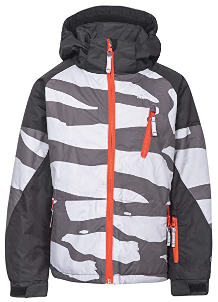 60c3bb91d5 Trespass Boys Shredded Waterproof Windproof Padded Skiing Jacket Coat   Amazon.co.uk  Clothing