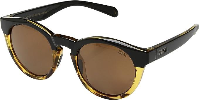 2195de92a14f Zeal optics unisex crowley black tortoise polarized copper lens one size  jpg 679x341 Zeal optics sunglasses