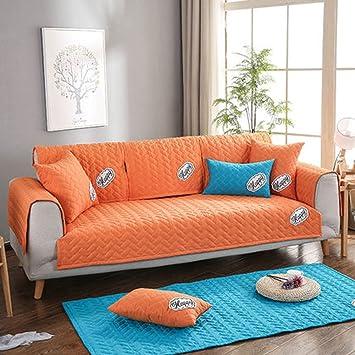 J&DSU Funda de sofá de algodón,Sofá Funda 1 Pieza ...