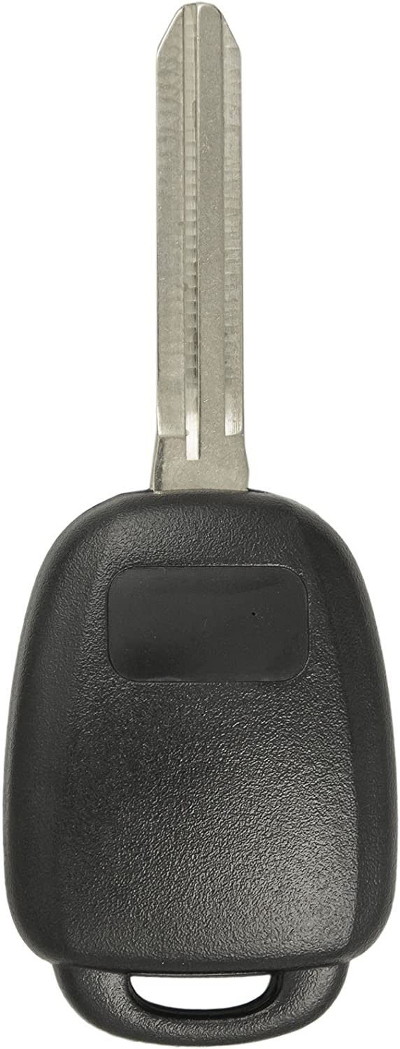 Keyless2Go Keyless Entry Remote Head Key Fob Replacement for Select Toyota Rav4 Highlander Tacoma GQ4-52T 89071-0R040 2 Pack