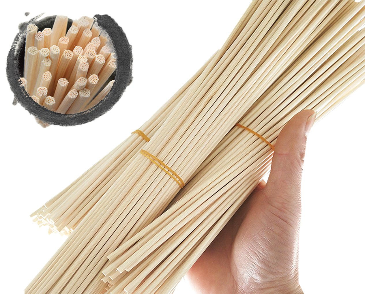Newbested 150 Pcs Reed Diffuser Sticks