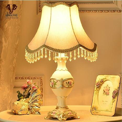 Lámpara de mesa de estilo europeo/lámpara del dormitorio ...