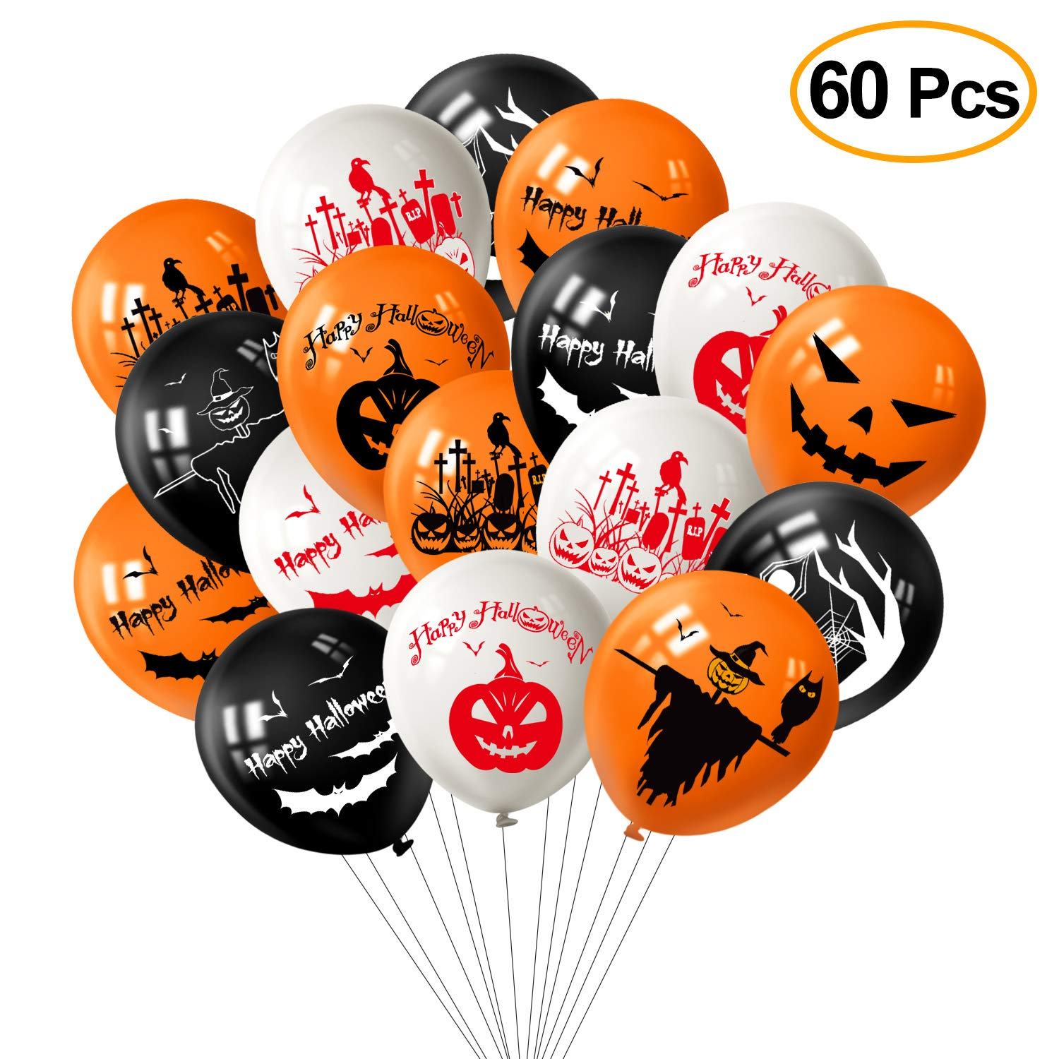 Tuparka 82Pcs Set di Decorazioni di Halloween 141cd5458326