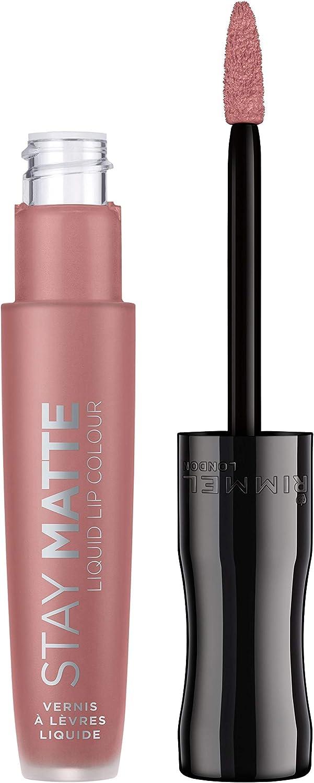 Rimmel London Stay Matte Liquid Lip Colour Nude Barra De Labios Tono 709 - 21 gr