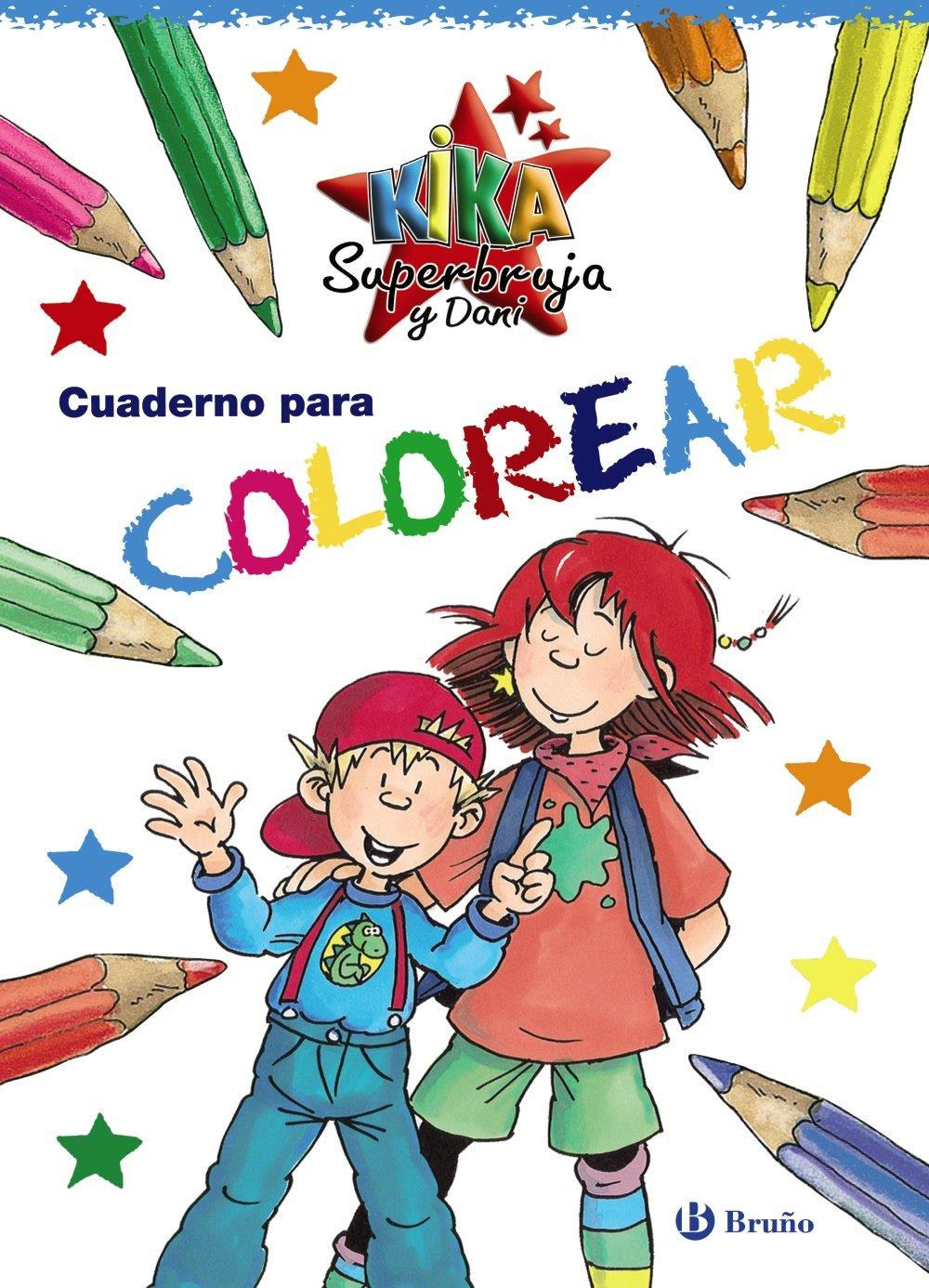 Cuaderno para colorear Castellano   A Partir De 6 Años