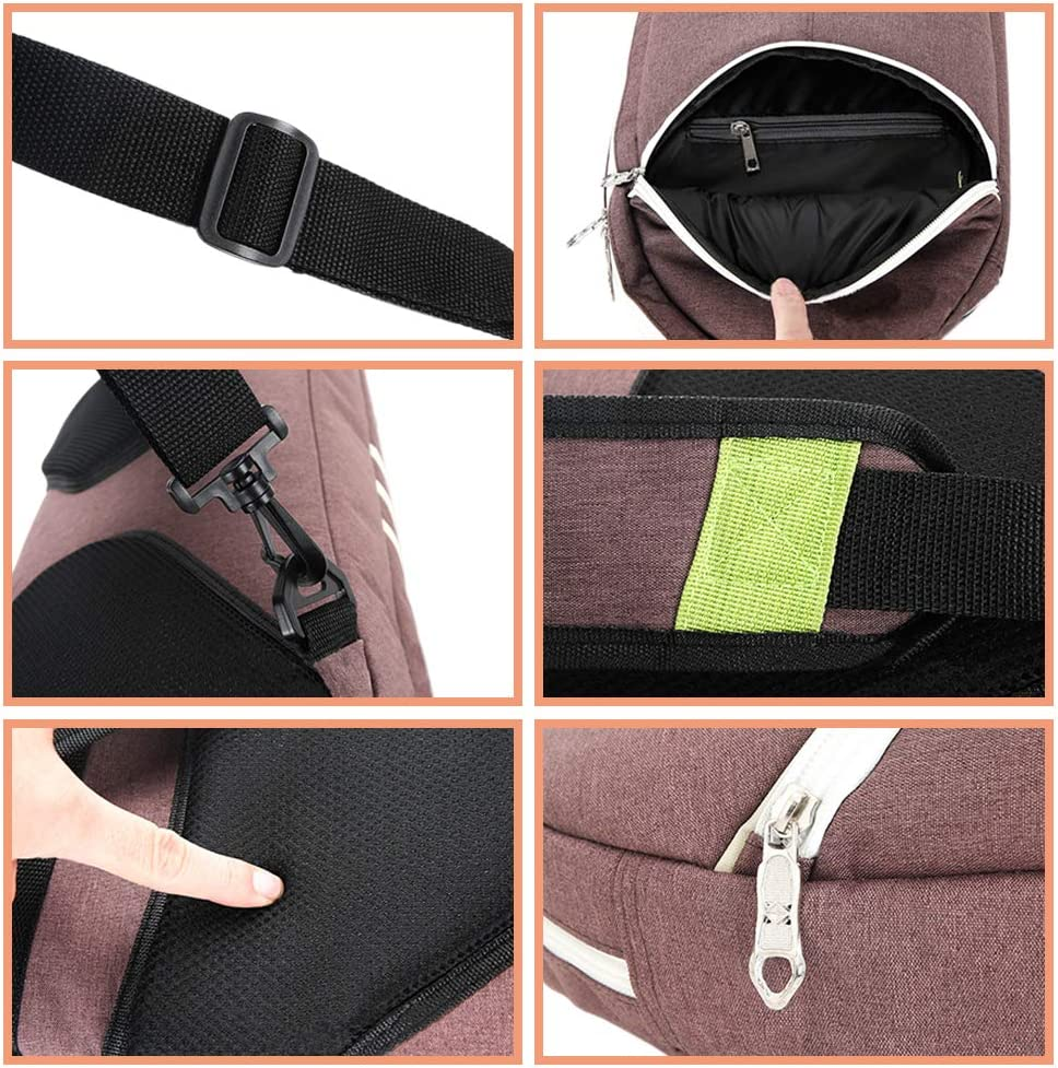 Fosheng Portable Badminton Racquet Bag Waterproof Tennis Racket Cover Case